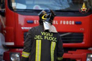 Incendio ad Aversa