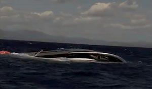 Yacht di 25 metri affonda a Villasimius: salvate sei persone VIDEO