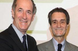 I governatori di di Lombardia e Veneto, Attilio Fontana e Luca Zaia