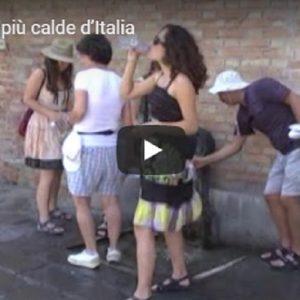 Venezia tra le città più calde d'Italia VIDEO VISTA