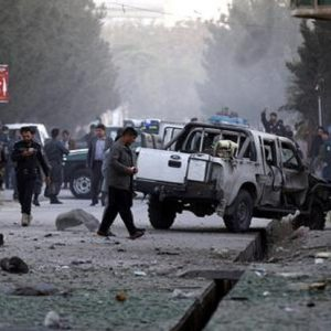 Attentato in Afghanistan, foto Ansa