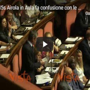 Tav, senatore M5s Airola in Aula fa confusione con le cifre VIDEO