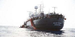 Migranti, la nave Alan Kurdi