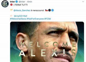 Alexis Sanchez Inter ufficiale cifre operazione