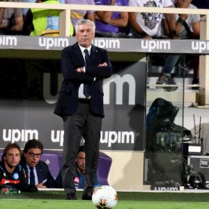 Ancelotti insultato tifosi Fiorentina video youtube una vergogna