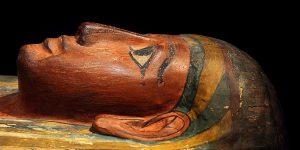 Una mummia dell'antico Egitto
