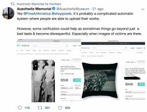 La denuncia del Museo di Auschwitz