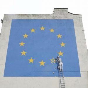 Il murales di Banksy a Dover