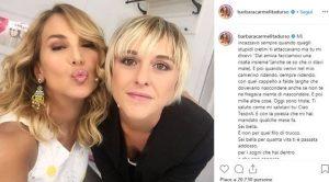 Barbara d'Urso e il post per Nadia Toffa