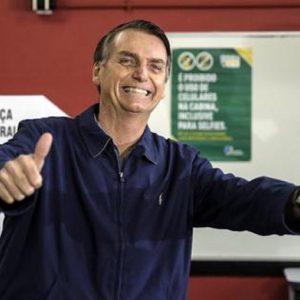 Il presidente del Brasile Jair Bolsonaro, Ansa