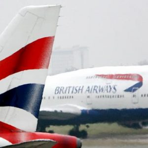 "La British Airways cancella voli per un ""problema tecnico"""