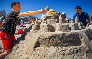 Cavallino, castelli sabbia