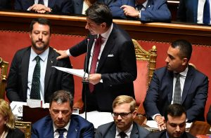 Conte e Salvini, governo finito