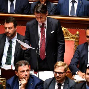 Conte governo finito Salvini