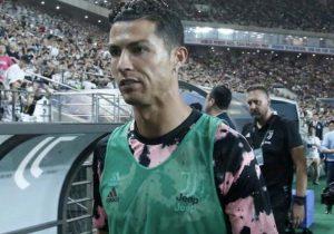Cristiano Ronaldo Corea polizia indagine