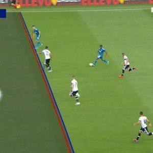 Cristiano Ronaldo gol Parma Juventus var annulla fuorigioco foto