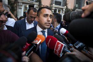 Luigi Di Maio, governo M5s Pd