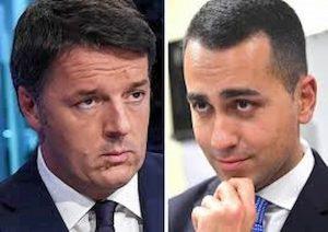 Matteo Renzi e Luigi Di Maio