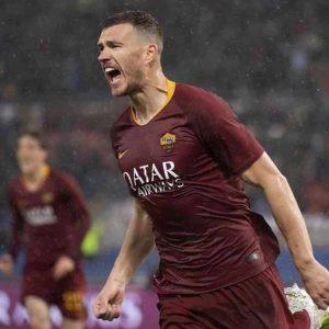 Edin Dzeko, rinnovo con la Roma fino al 2022. Non andrà più all'Inter