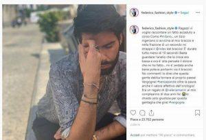 federico fashion style post instagram