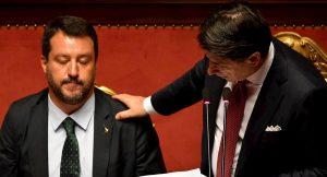 Sondaggio Ispos, precipita la fiducia in Salvini (-15%). La maggioranza non vuole elezioni subito