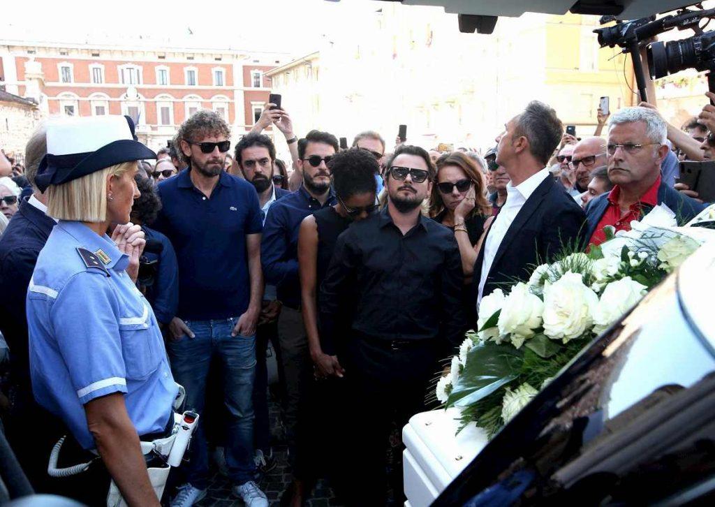Filippo Roma funerali Nadia Toffa