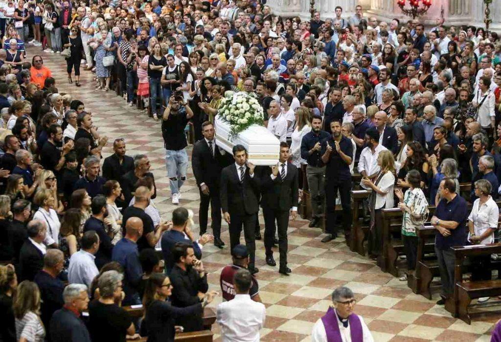 bara bianca funerali