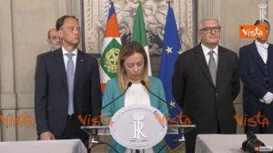 Giorgia Meloni, video Vista