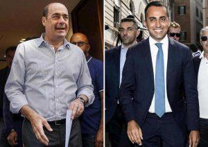 """Governo, Zingaretti: """"Era e rimane difficile"""". Di Maio: """"Pensino a soluzioni non a colpire me"""""""