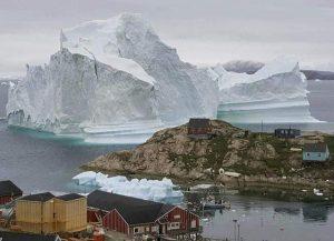 Groenlandia, la calotta glaciale perde volume