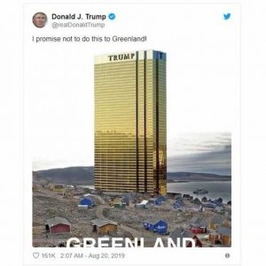 Groenlandia, Trump annulla la visita in Danimarca