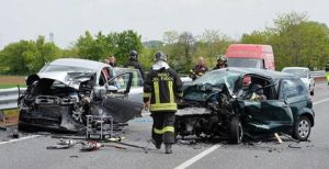 Treviso incidente statale Pontebbana