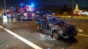 A14, ancora un incidente mortale tra auto vicino Cesena: due morti e tre feriti
