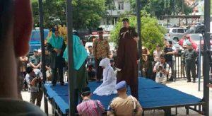 indonesia frustata in pubblico