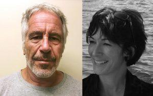 Ghislaine Maxwell e Jeffrey Epstein