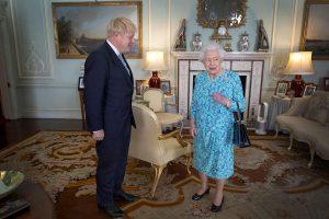 Boris Johnson regina