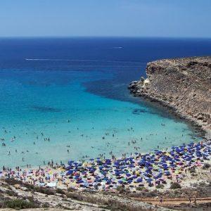 La spiaggia dei Conigli a Lampedusa