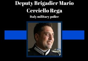 Mario Cerciello Rega post polizia Usa