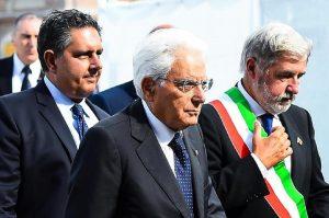 Il presidente della Repubblica Sergio Mattarella, Ansa