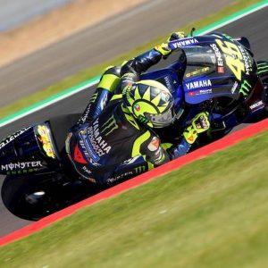 MotoGp Silverstone griglia partenza pole Marquez Valentino Rossi
