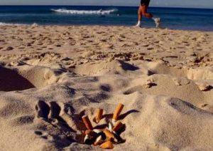 mozziconi spiaggia