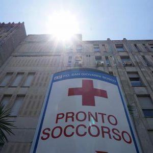 Il pronto soccorso dell'ospedale San Giovanni Bosco di Napoli
