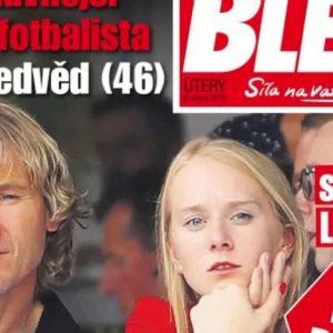 """Pavel Nedved ha una fidanzata di 23 anni. Blesk: """"Ha lasciato la moglie dopo 25 anni di matrimonio"""""""