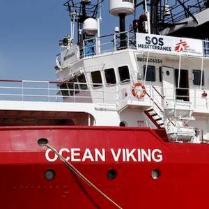 La nave Ocean Viking