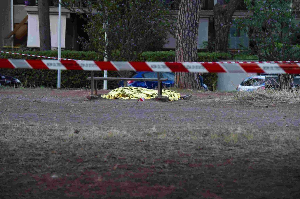 diabolik ucciso nel parco a roma