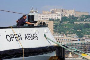 Migranti naufragio Open Arms