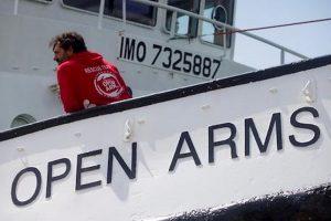 La nave Open Arms