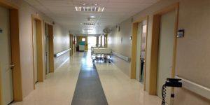 Una foto di un ospedale