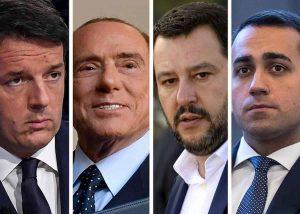 Salvini, Di Maio, Renzi e gli altri: per favore, un week end zitti