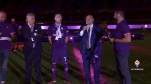 Ribery Fiorentina presentazione Franchi video YouTube